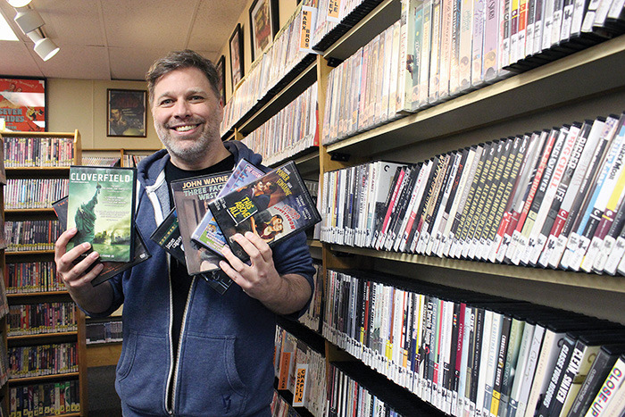 Kent Bendall has taken over ownership of Pic-A-Flick, one of the only video rental stores left in Victoria, in the Cook Street Village.